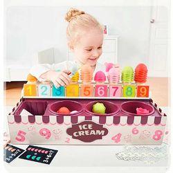 Игровой набор для счета и сортировки Top Bright 120478 Магазин Мороженого