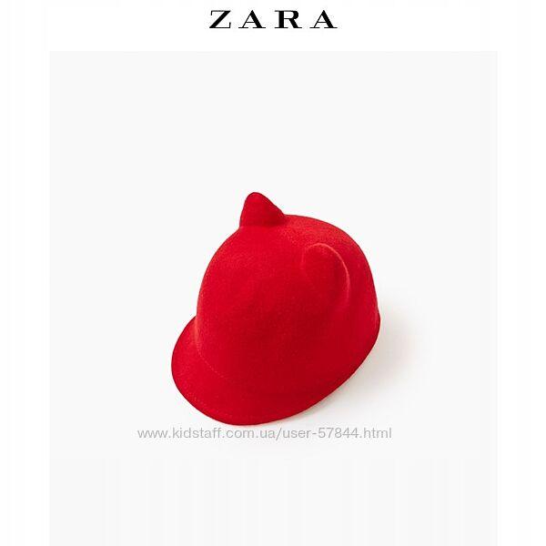 Шляпа zara, шерсть