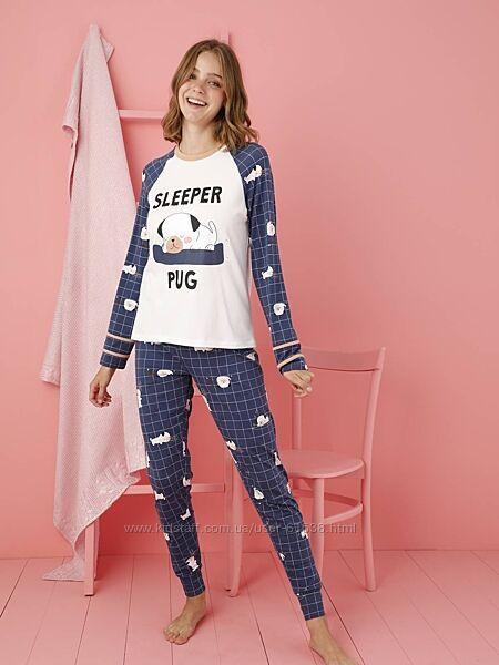 Трикотажная пижама Sevim