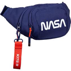 Сумка-бананка 1007 NASA, синя - Поясна сумка для хлопчика