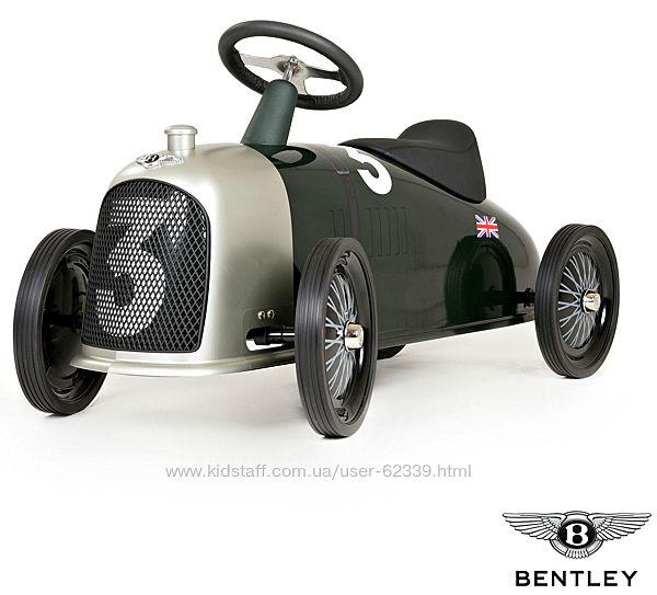 Шикарная Машинка-каталка Rider Heritage Bentley - Baghera 829
