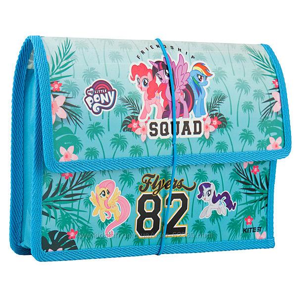 Папка для тетрадей на резинке My Little Pony B5- Kite LP19-023