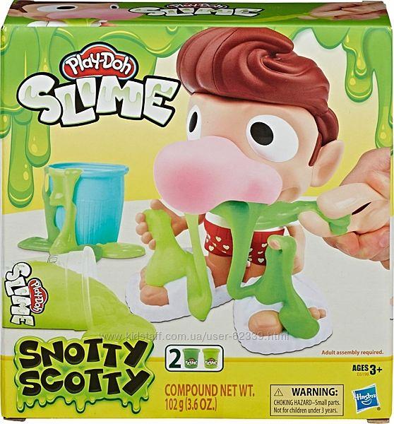 Набір Play-Doh Сопливий Скоттi - Slime Snotty Scotty, арт. E6198