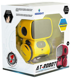 Интерактивный робот с голосовым управлением AT-Robot - желтый