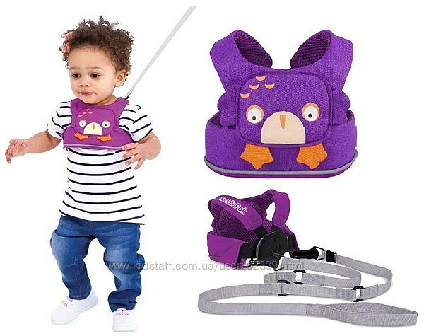 Вожжи для ходьбы Ollie, фиолетовые Trunki 0157-GB01
