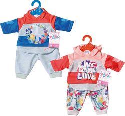 Одежда для куклы Baby Born Трендовый спортивный костюм, арт. 826980