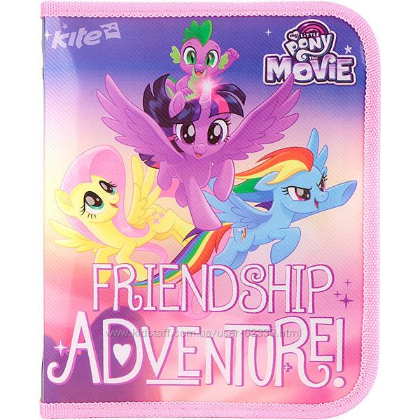 Папка для тетрадей на молнии My Little Pony -Kite lp17-203-02