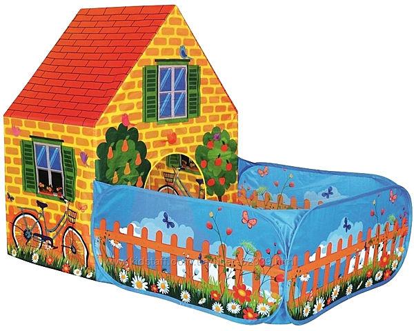Iграшковий намет Будиночок з двориком - Bino 82816
