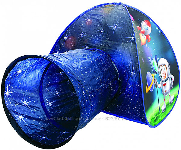 Іграшковий  намет з тунелем Космонавт - Bino 82824