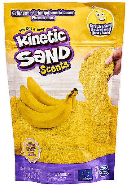 Кiнетичний пiсок з ароматом Банановий десерт Kinetic Sand, арт. 71473B