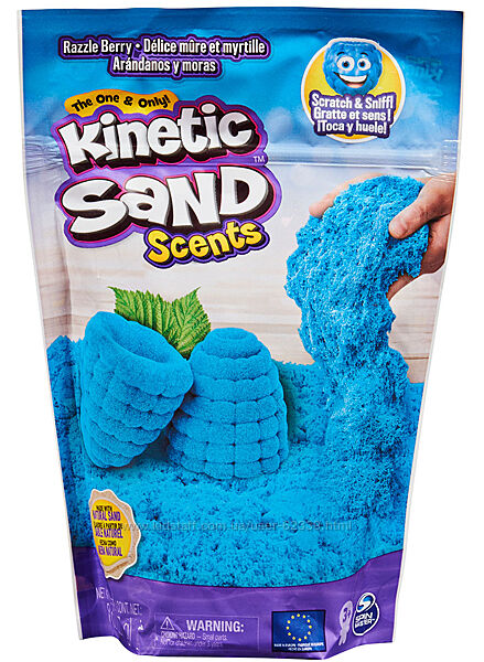 Кiнетичний пiсок з ароматом Блакитна малина Kinetic Sand, арт. 71473R