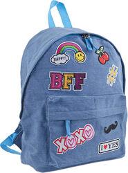 Стильный молодежный рюкзак ST-15 Jeans ХОХО YES 553923