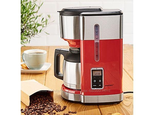 Капельная кофеварка Silvercrest с таймером 24 часа