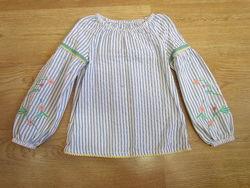 Блузки, туники Некст, вышивка, гипюр