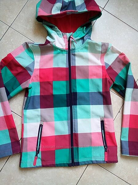 Куртка ветровка soft shell yigga 146-152