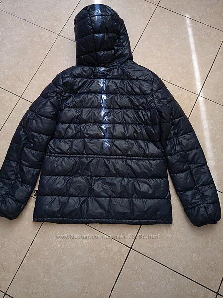 Куртка осень деми Бенеттон Benetton на девочку стеганая