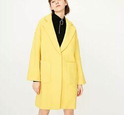 Пальто деми Only кокон оверсайз l-xl брендовое шерсть