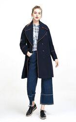 Пальто осень-весна демисезон vero moda кокон бушлат размер s