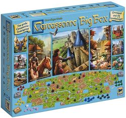 Игра Carcassonne Big Box 6, Каркассон. Большая коробка 2017, 11 дополн
