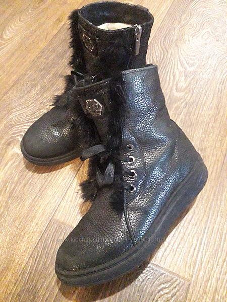 красивые ботинки 33 размер