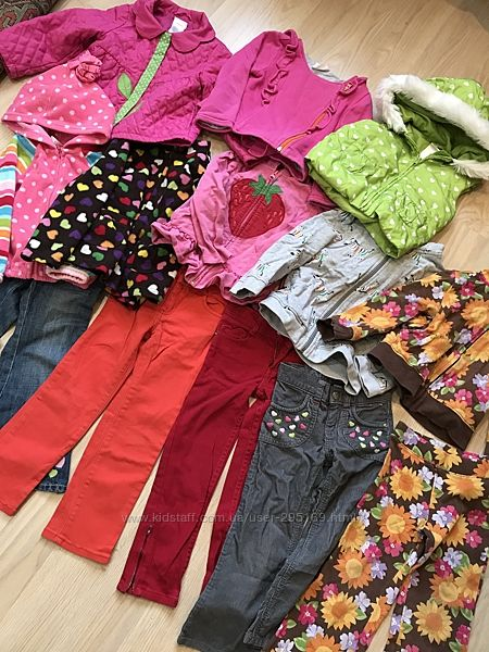 Пакет одежды для девочки 3-4года Gymboree, Crazy8. 13 предметов