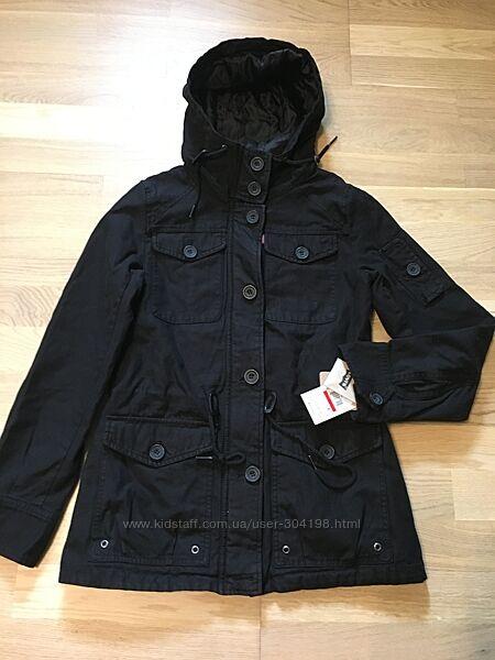 Новая парка Levi&acutes оригинал Утепленная женская куртка Levis левис S