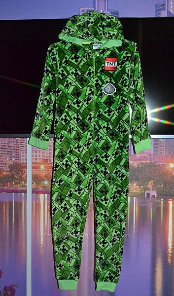Махровый человек пижама слип кенгуруми костюм для дома 10/11 лет