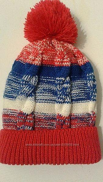 Детская шапочка  на теплой флисовой подкладке, мягкая и теплая. Lupilu