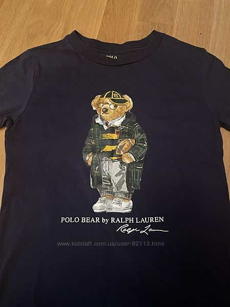 Футболка Polo Bear от Ральф Лорен PRL 6 лет