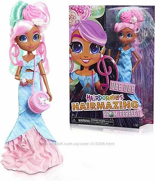 Кукла Hairdorables Hairmazing Prom Perfect Dee Dee Хаирдораблс Ди Ди