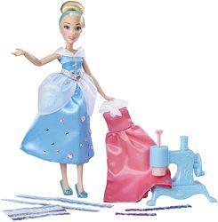 два набора для дизайна одежды шарнирная кукла, три платья, швейная машинка
