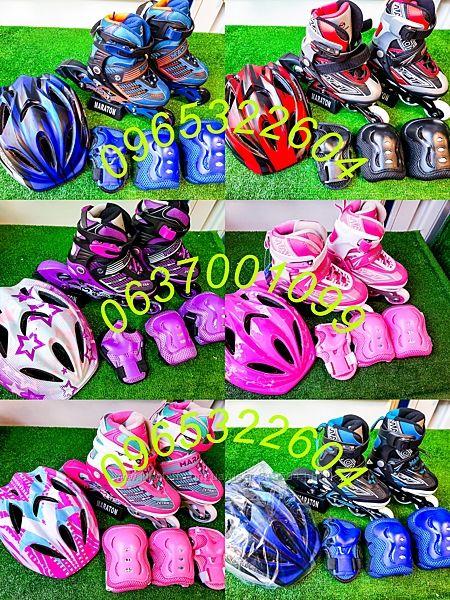 Ролики Maraton Zetra/Soft полный комплект с защитой и отдельно