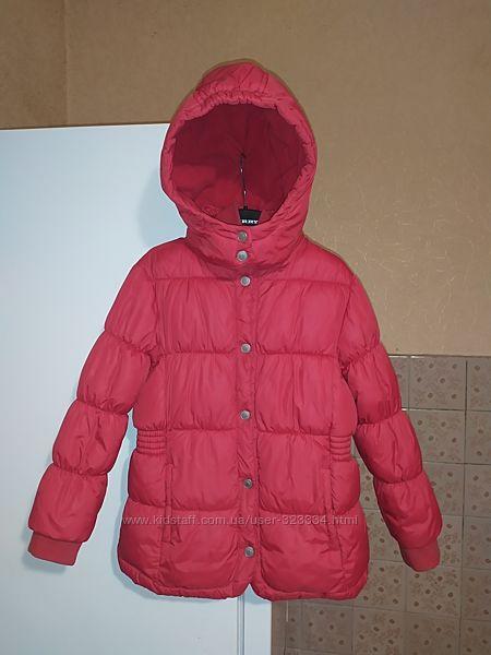 Зимняя термо - куртка Chicco для девочки на 6-7 лет