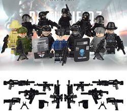 Фигурки, человечки солдаты, спецназ лего аналог