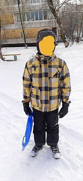 Зимняя термо куртка Protest Waterproof мембрана Рост140см 9-10лет. Отл. сос