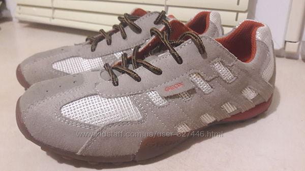 Новые туфли, кроссовки, кеды GEOX Respira. Кожа. Р/р-33. Ст-20см. Оригинал