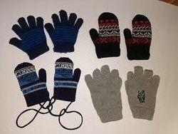 Варежки и перчатки одним лотом