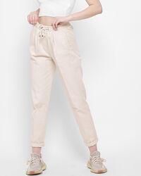 Демисезонные брюки из хлопка
