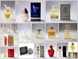 Духи винтаж Dior, YSL, Balmain, Boucheron, Gyvenchy, Gucci
