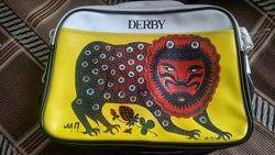 Новая сумка через плечо Дерби
