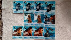 . карточки 3 Д  ледниковый период, обновила