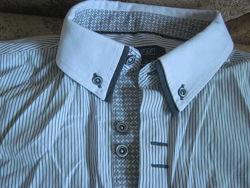 Стильная рубашка Мр. F&F, Брендовая рубашка 40р. Zara Man