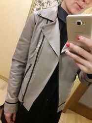 НОВИЕ куртка косуха курточка натуральная кожа кожаная ZARA MANGO