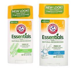 Натуральный дезодорант Essentials, для мужчин и женщин , 71 г, США
