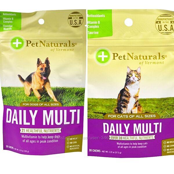 Pet Naturals of Vermont мультивитамины, витамины для кошек и собак