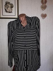 Отличная трикотажная рубашка TU h 14 сток