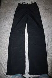 Теплые штаны плащевка и флис