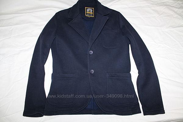 Фирменный теплый трикотажный пиджак Carisma
