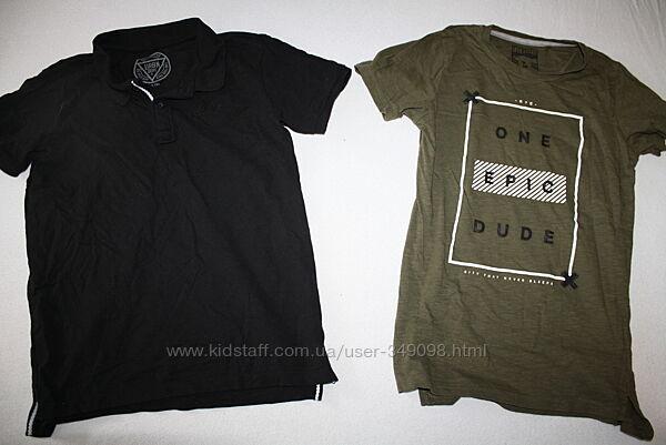 Фирменные футболка и поло