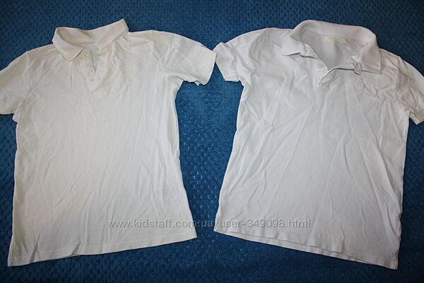 Белые футболки поло отличное состояние